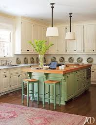 kitchen island different color than cabinets ivory cabinets celadon kitchen island mojan sami