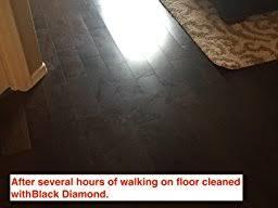 amazon com customer reviews black wood laminate floor