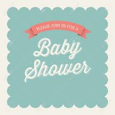 Baby Shower Invitation Card Baby Shower Invitation Card Editable With Type Font Ribbon