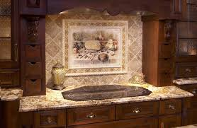 backsplashes for kitchens 12 terrific rustic kitchen backsplash ideas images ramuzi