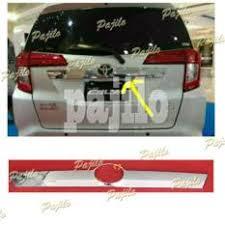 Daihatsu Sigra Trunk Lid Cover Chrome tutup cover pijakan kaki garnish sing belakang aerox 155 chrome