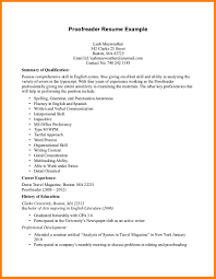 Proofreader Resume Proofreader Resume Minimalistic Resume Template Writing Narrative