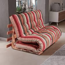 sofa futon sofá cama futon japonês casal estrutura decoração