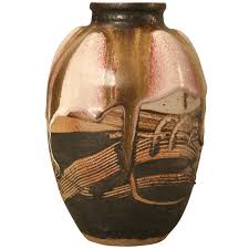 Vase French Signed Vintage French Ultra Modern Pottery Studio Vase For Sale At
