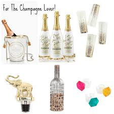 gift guide for the who loves champagne baubles to bubbles