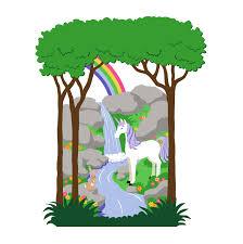 small unicorn rainbow wall mural customer photos and alternate images small unicorn rainbow wall mural