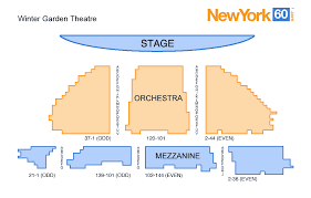 Winter Garden Theater Broadway - winter garden theatre broadway of rock book your