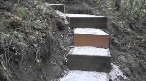 landscape steps a hillside stairway youtube