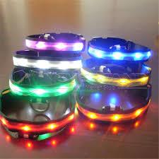 Light Up Dog Collar Led Nylon Pet Dog Night Safety Glow In Dark Collar U2013 100 Daily