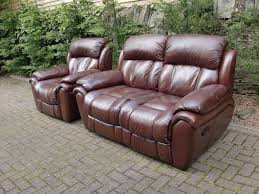 brown leather reclining sofa brown leather modern reclining sofa