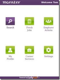 monstor jobs powered by earlysail monster com apps for job seekers u0026 employers