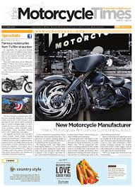 the motorcycle times october 2015 by the motorcycle times issuu