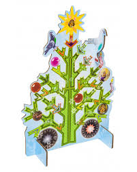 kidsonroof large size pop out decorative christmas tree greeting