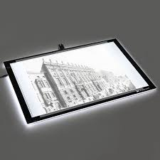 voilamart a2 led tracing light box stencil drawing board pattern