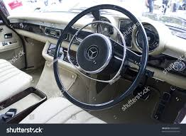 mercedes digital dashboard kuala lumpurnov 13 dashboard mercedesbenz 280se stock photo