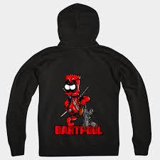 bart sweater bartool bart zipped hoodie spoofytees
