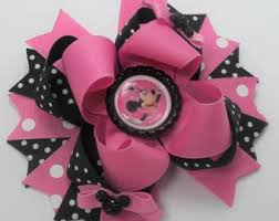 handmade bows handmade boutique hair bows by justinesboutiquebows on etsy