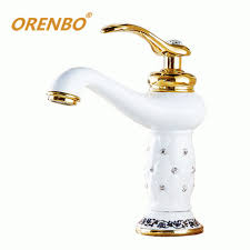 white bathroom faucet bathroom white bathroom faucets 25 orenbo font b white b font