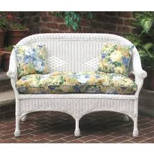 Patio Loveseat Cushion Replacement Wicker Furniture Replacement Chair U0026 Love Seat Cushions Midsize