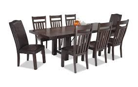 9 piece dining table set mesa 9 piece dining set bob s discount furniture
