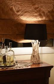 driftwood table lamp cyan04438 lighting pinterest table