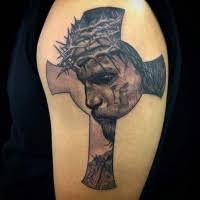 jesus on the cross tattoo tattooimages biz