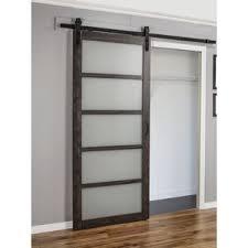 Sliding Barn Doors For Closets Interior Doors You Ll Wayfair