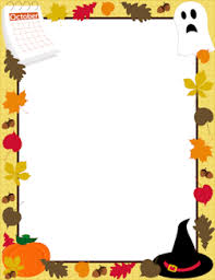 815 best halloween clipart images october border work games pinterest october border design
