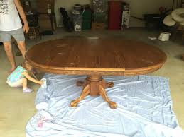 How To Paint A Table How To Paint A Table In One Day Through Heather U0027s Looking Glass