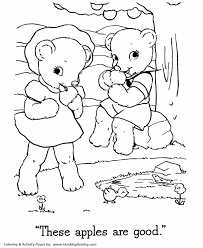 teddy bear coloring pages free printable boy and bear