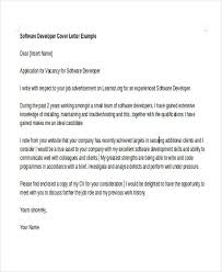 6 software developer cover letters free u0026 premium templates