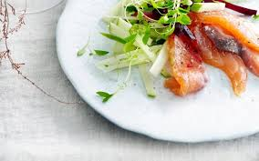 cuisiner du fenouil frais saumon cru mariné julienne pommes fenouil cuisine et recettes