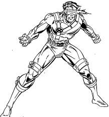 x men outline coloring pages funny coloring