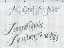 tattoo script lettering 25 by 12kathylees12 on deviantart