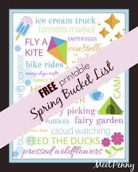 spring bucket list meet penny