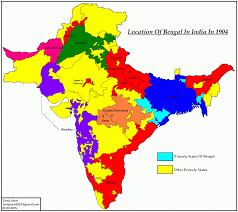 Map Of Punjab India by Pakistan Geotagging Partitions Of Bengal In 1905 And 1947