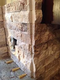 Stacked Stone Veneer Backsplash by Help Stacked Stone Corners