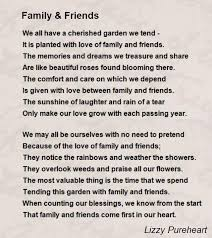 family friends poem by lizzy poem