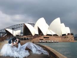 wedding backdrop australia wedding photography in sydney opera house australia