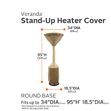 Patio Covers Unlimited by Amazon Com Classic Accessories Veranda Stand Up Heater Cover