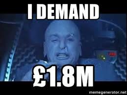 Dr Evil Meme Generator - i demand 1 8m dr evil freeze meme generator