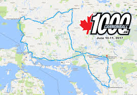 Algonquin Map Ontario Cannonball 500 Cannonball 1000 Map Details Page