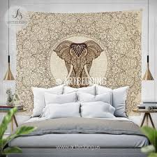 Tapestry On Bedroom Wall Elephant Tapestry Elephant Tapestry Wall Hanging Artbedding