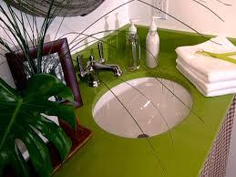 guide to selecting bathroom countertops hgtv