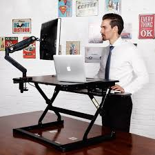 flexispot m2 height adjustable sit stand 35