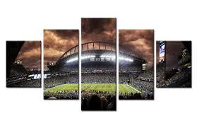 New York Yankees Home Decor by Aliexpress Com Buy 5 Panel New York Yankees Yankees Stadium Wall