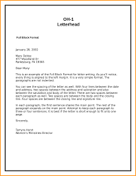 type of letters format gallery letter samples format