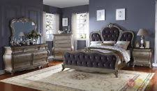 bedroom sets in room bedroom size queen color silver ebay