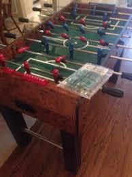 Harvard Foosball Table Parts by Harvard Foosball Table 100 Obo Legs Detached For Easy Transport