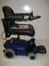 Used Power Wheel Chairs Power Wheelchair Pride Z Portable Power Chair Used